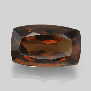 Brown Enstatite 17 7 Carat Cushion From Brazil Natural And