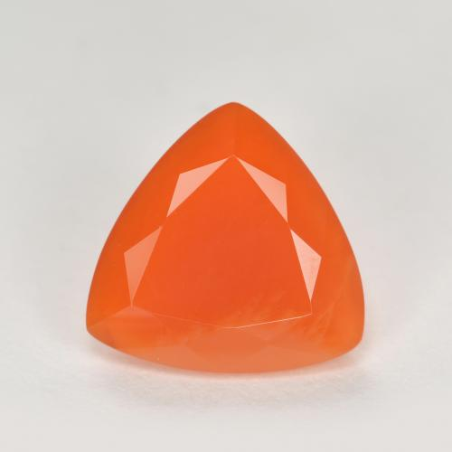 thumb image of 1.6ct Trillion Facet Orange Fire Opal (ID: 369437)