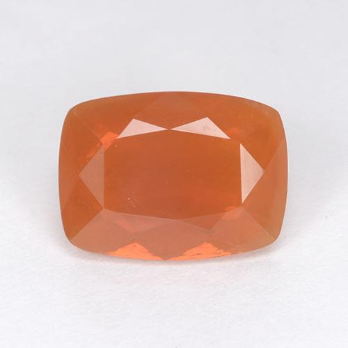 Medium Orange Ópalo de Fuego Gema - 2.5ct Corte en Forma Cojín (ID: 511771)