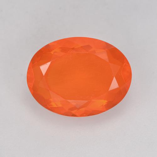Fire Orange Ópalo de Fuego Gema - 2.1ct Forma ovalada (ID: 525048)