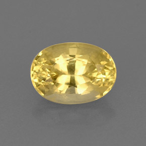 Buy 0.83 ct Yellow Golden Beryl 7.14 mm x 5.1 mm from GemSelect (Product ID: 267529)