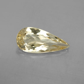 2.67 ct Pear Facet Golden Golden Beryl Gemstone 15.21 mm x 7.2 mm (Product ID: 352574)