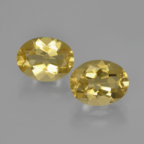 Light Golden-Yellow Berilo Dorado Gema - 1.8ct Forma ovalada (ID: 360519)