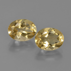 thumb image of 1.9ct Oval Facet Yellow Golden Beryl (ID: 362110)