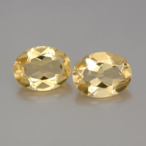 Yellow Golden Beryl Gem - 1.7ct Oval Facet (ID: 362113)