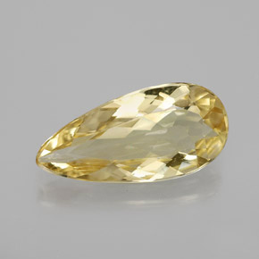 2.7ct Pear Facet Golden Golden Beryl Gem (ID: 363785)