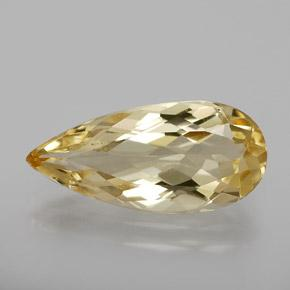 2.6ct Pear Facet Golden Golden Beryl Gem (ID: 363791)