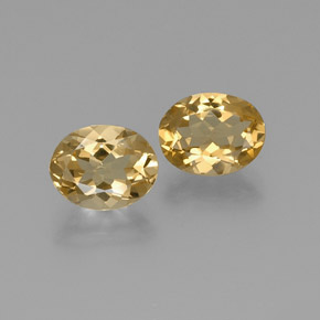 thumb image of 2.3ct Oval Facet Yellow Golden Beryl (ID: 371165)