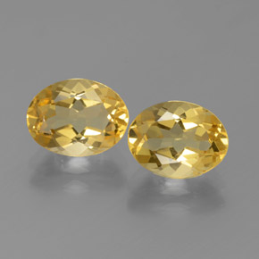 Medium Golden Golden Beryl Gem - 1.8ct Oval Facet (ID: 375884)
