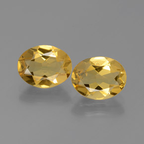 thumb image of 1.7ct Oval Facet Yellow Golden Beryl (ID: 375885)