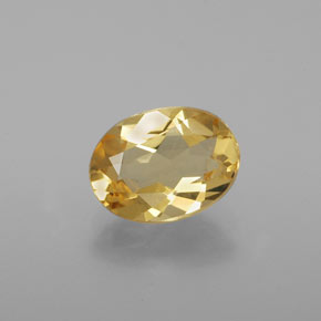 thumb image of 1.4ct Oval Facet Yellow Golden Beryl (ID: 376161)