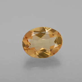 Medium Orange Berilo Dorado Gema - 1.5ct Forma ovalada (ID: 376163)