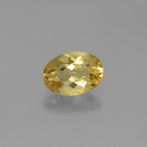 thumb image of 1.4ct Oval Facet Yellow Golden Beryl (ID: 376657)