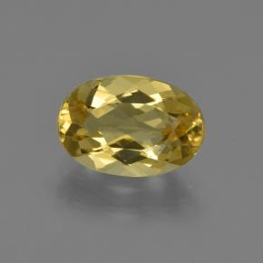 Golden Golden Beryl Gem - 1.8ct Oval Facet (ID: 422838)