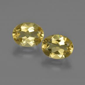 Light Golden-Yellow Berilo Dorado Gema - 1.8ct Forma ovalada (ID: 422865)