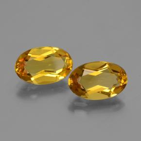 Golden Yellow Golden Beryl Gem - 2.1ct Oval Facet (ID: 436037)