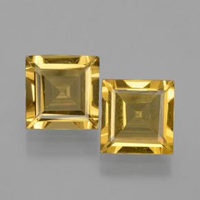 Medium Golden Berilo Dorado Gema - 1.4ct Forma cuadrada (ID: 436129)