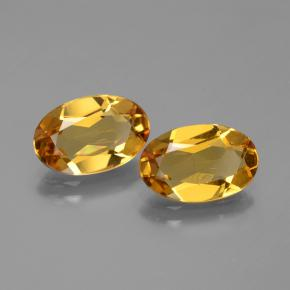 Dark Golden بيريل ذهبى حجر كريم - 1.8ct وجه بيضاوى (ID: 436414)