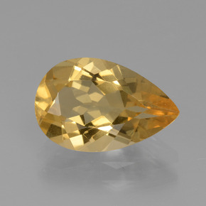 thumb image of 1.9ct Pear Facet Yellow Golden Golden Beryl (ID: 436631)