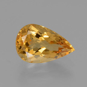 1.91 ct Pear Facet Yellow Golden Golden Beryl Gemstone 10.69 mm x 7 mm (Product ID: 436639)