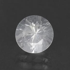 White Goshenite Gem - 1.1ct Diamond-Cut (ID: 502609)