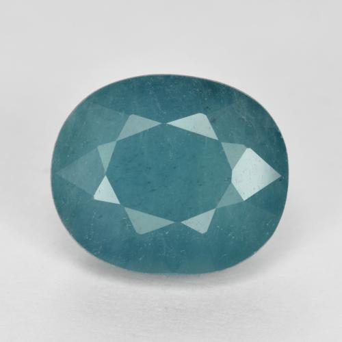 Greenish-Blue Grandidierite Gem - 4ct Oval Facet (ID: 471967)