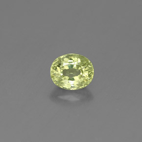 Buy 0.52 ct Lime Green Grossularite Garnet 5.14 mm x 4.3 mm from GemSelect (Product ID: 310974)