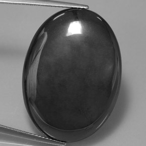 Buy 54.54ct Black Gray Hematite 29.92mm x 21.84mm from GemSelect (Product ID: 314019)
