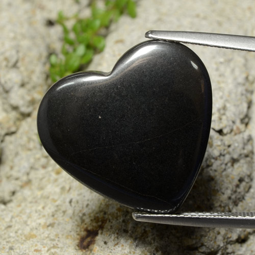 Buy 22.87 ct Black Gray Hematite 20.37 mm x 19.1 mm from GemSelect (Product ID: 322575)