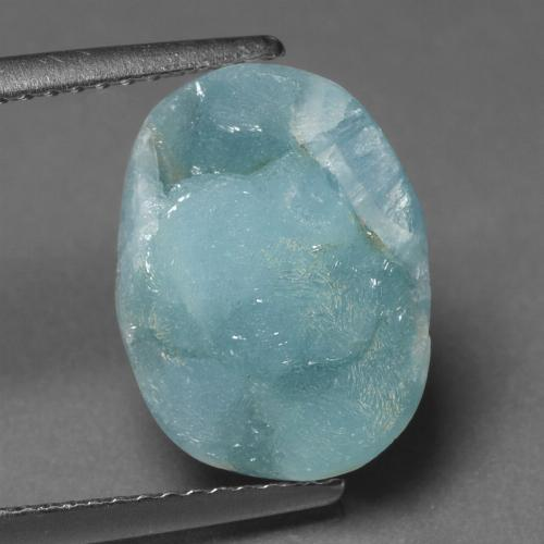 Blue Hemimorphite Druzy Gem - 8.2ct Fancy Crystal Cluster (ID: 439657)