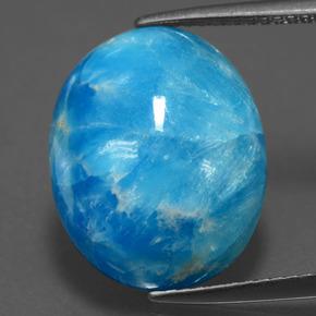 13 3ct Blue Hemimorphite Gem From Congo