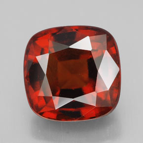 Hessonite Garnet 8 6ct Cushion From Madagascar Natural And