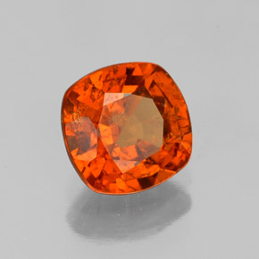 1.4 carat Cushion 6.6x6.6mm Natural and Untreated ...