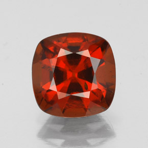 2.3ct Cushion-Cut Cinnamon Orange Hessonite Garnet Gem (ID: 343420)