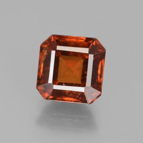 Amber Orange Granato essonite Gem - 2.2ct Sfaccettatura ottagonale (ID: 431803)