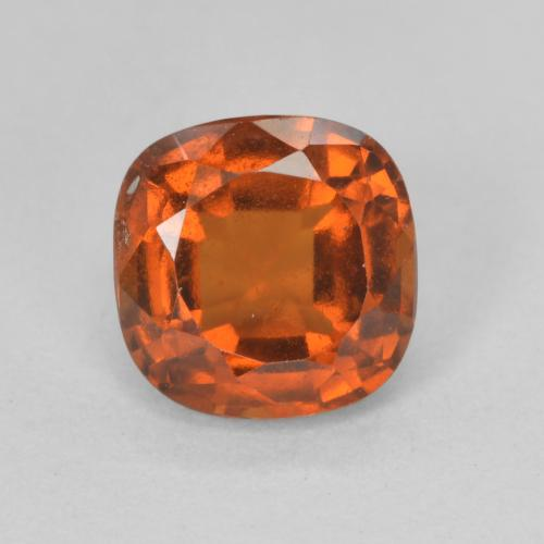 Amber Orange Granate Hesonita Gema - 1.9ct Corte en Forma Cojín (ID: 499260)