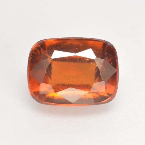 2.9ct Cushion-Cut Medium Orange Hessonite Garnet Gem (ID: 533350)