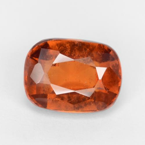 Fire Orange Hessonite Garnet Gem - 2.1ct Cushion-Cut (ID: 548022)