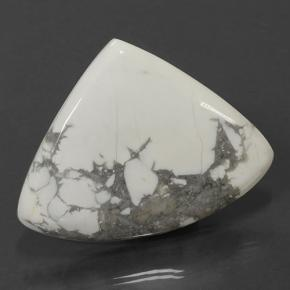 Multicolor White Howlite Gem - 103.4ct Pear Cabochon (ID: 501682)