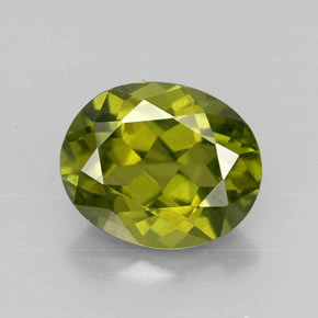 Idocrase 3 1ct Oval From Kenya Natural And Untreated Gemstone