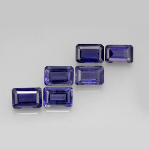 3.36 ct total Natural Violet Blue Iolite