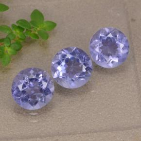 thumb image of 0.9ct Round Facet Violet Blue Iolite (ID: 476300)