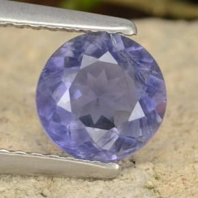 thumb image of 0.8ct Round Facet Violet Blue Iolite (ID: 476496)