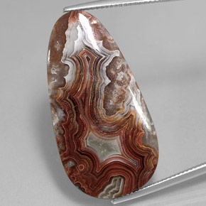 Multicolor Jasper Gem - 26.3ct Fancy Cabochon (ID: 362633)