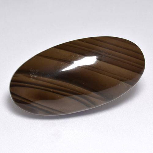 Brown Jasper Gem - 22.1ct Oval Cabochon (ID: 515431)