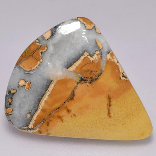 Multicolor Jasper Gem - 15.3ct Fancy Cabochon (ID: 521729)