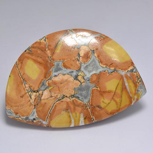 Multicolor Jasper Gem - 70.4ct Fancy Cabochon (ID: 522213)