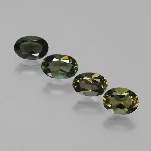 Yellowish Green Kornerupine Gem - 0.5ct Oval Facet (ID: 389497)