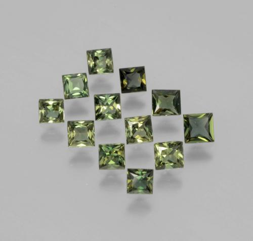 Buy 2.10 ct Yellowish Green Kornerupine 3.34 mm x 3.2 mm from GemSelect (Product ID: 394268)