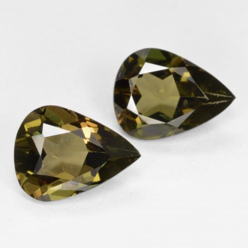 Buy 1.42 ct Brownish Green Kornerupine 7.10 mm x 5.4 mm from GemSelect (Product ID: 421976)